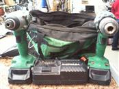 HITACHI Cordless Drill DS18DSAL / WH18DSAL / COMBO